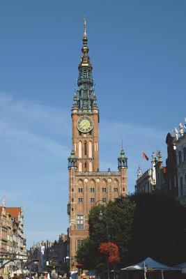 Town Hall in Gdansk Poland Journal  150 Page Lined Notebook/Diary
