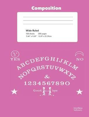 Pink Talking Board College Rule Composition Book