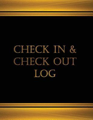 Check in and Check Out Logbook