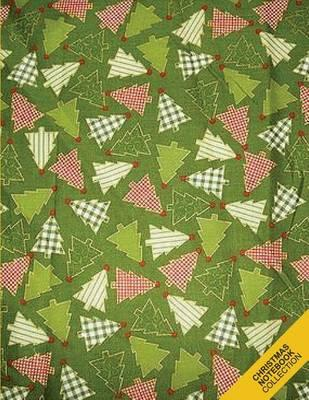 Christmas Notebook Collection : Christmas Tree Pattern 1 (Holiday Notebook, Journal, Diary) (Christmas Gifts)