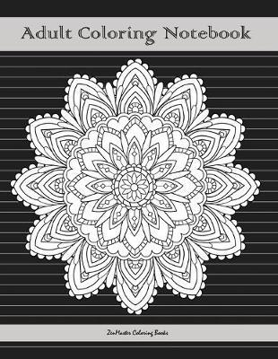 Adult Coloring Notebook, Black