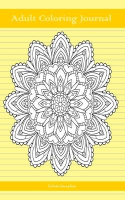 Adult Coloring Journal, Yellow