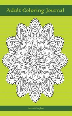Adult Coloring Journal, Green