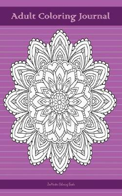Adult Coloring Journal, Purple