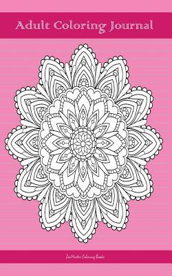 Adult Coloring Journal, Pink
