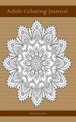 Adult Coloring Journal, Brown