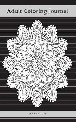 Adult Coloring Journal, Black