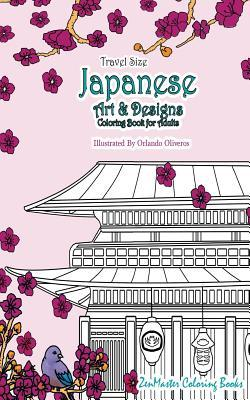 Japanese Artwork and Designs Coloring Book for Adults