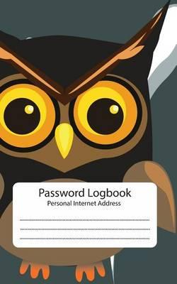 Password Log  Personal Internet Address Book Owl Password Journal Password Keeper