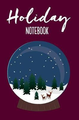 Holiday Notebook Snow Globe