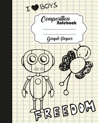 Composition Notebook Graph Ruled Journal