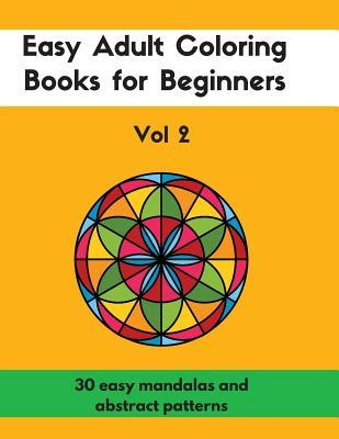 Easy Adult Coloring Books for Beginners