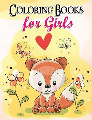 Gorgeous Coloring Book for Girls