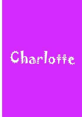 Charlotte - Bright Purple Notebook / Extended Lined Pages / Soft Matte