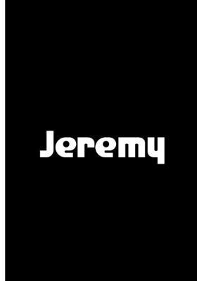 Jeremy Notebook / Journal