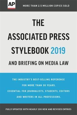 The Associated Press Stylebook 2019 Cover Image