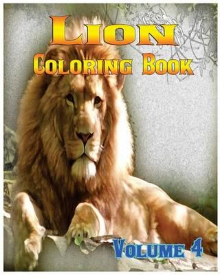 Lion Coloring Books Vol.4 for Relaxation Meditation Blessing