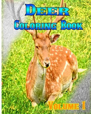 Deer Coloring Books Vol.1 for Relaxation Meditation Blessing