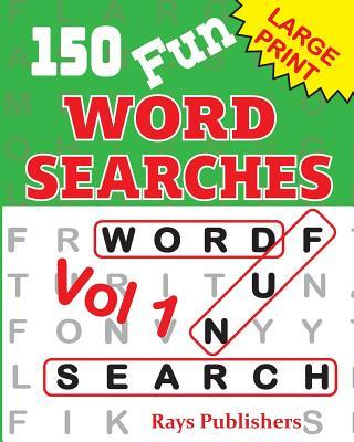 150 Fun Word Search Puzzles