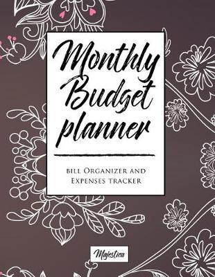 My Home Budget Planner: Monthy Bill Organizer & Expense Tracker Book, Vintage Flower Tough Matte Cover Design