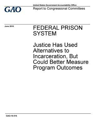 Federal Prison System Justice Has Used Alternatives to Incarceration, But Could Better Measure Program Outcomes