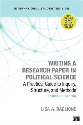 Writing a Research Paper in Political Science - International Student Edition