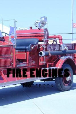 Fire Engines: Notebook 150 Lined Pages