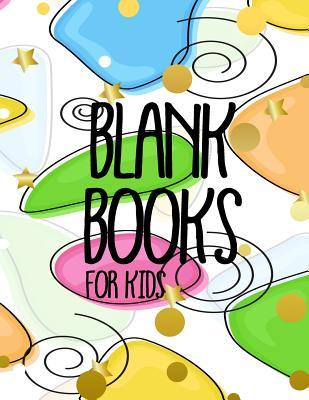 Astrosadventuresbookclub.com Blank Books for Kids : 8.5 X 11, 120 Unlined Blank Pages for Unguided Doodling, Drawing, Sketching & Writing Image