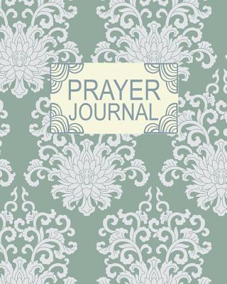 Prayer Journal : 100 Days Writing Down a Letter to God, Vintage Steel Blue Blossom, 6 X 9, 100 Pages