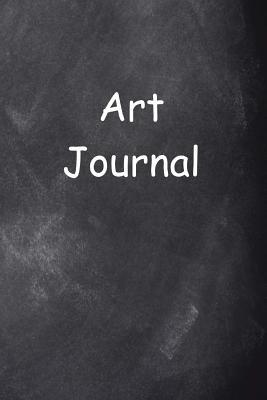 Art Journal Chalkboard Design  (notebook, Diary, Blank Book)