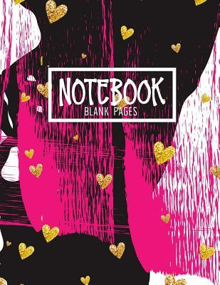 Notebook Blank Pages  Blank Doodle Draw Sketch Book