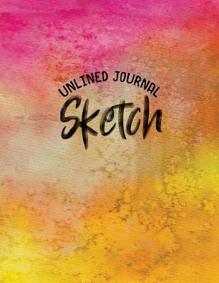 Unlined Journal Sketch  Blank Doodle Draw Sketch Book