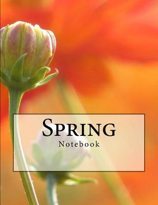 Spring Notebook: Notebook with 150 Lined Pages