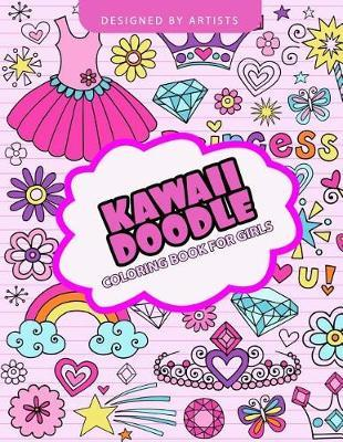 Astrosadventuresbookclub.com Kawaii Doodle Coloring Book for Girls Image