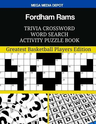 Fordham Rams Trivia Crossword Word Search Activity Puzzle Book  Greatest Basketball Players Edition