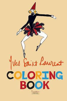 Yves Saint Laurent Coloring Book