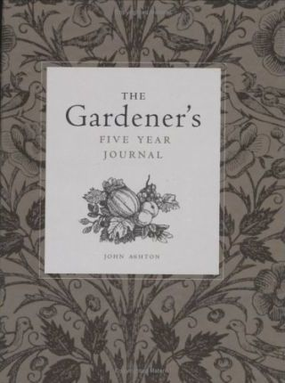 The Gardener's Five Year Journal