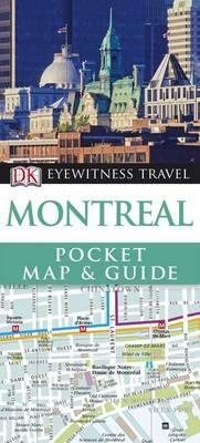 DK Eyewitness Pocket Map and Guide: Montreal