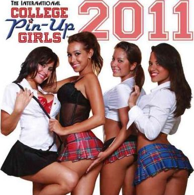College Pin-Up Girls