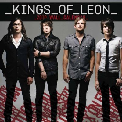 Kings of Leon 2010 Calendar