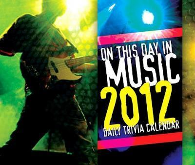 On This Daymusic 2012 Page-A-Day Calendar