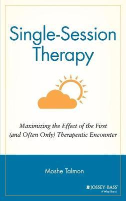 Single Session Therapy - Moshe Talmon