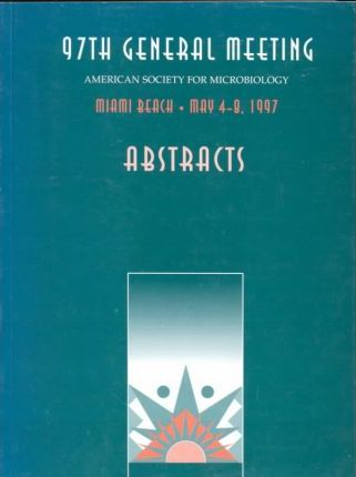 Abstracts of the 97th General Meeting of the American Society for Microbiology
