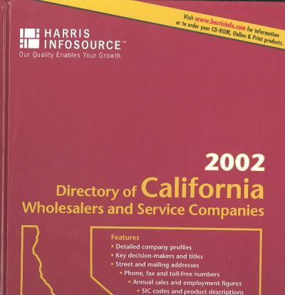 National Manufacturers Directory 2002
