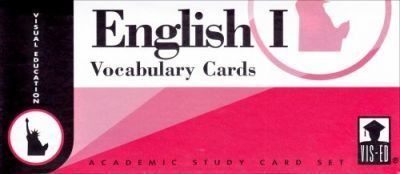 English Vocabulary Cards: Set 1