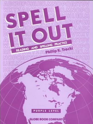 Globe Spell It Out Purple Level Txt Consum 1991c