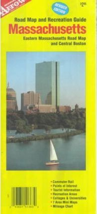 Massachusetts Road Map and Recreation Guide