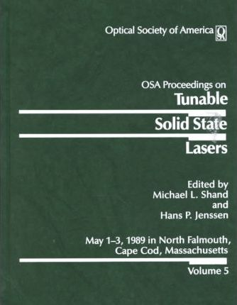 Tunable Solid State Lasers