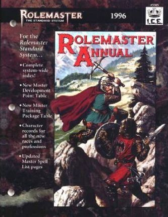 Rolemaster Annual 1996