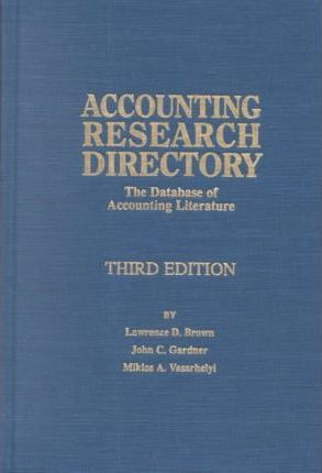 Accounting Research Directory
